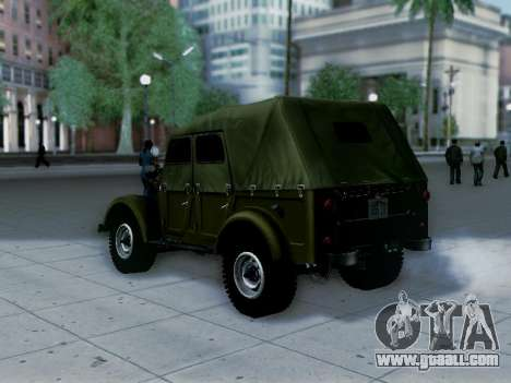 UAZ-69A for GTA San Andreas left view