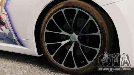 Maserati MC Stradale Infinite Stratos for GTA 4