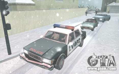 Snow San Andreas 2011 HQ - SA:MP 1.1 for GTA San Andreas second screenshot