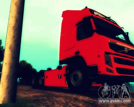 Volvo FM Globetrotter XL 6x4 for GTA San Andreas side view