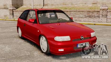 Opel Astra GSi 1993 for GTA 4
