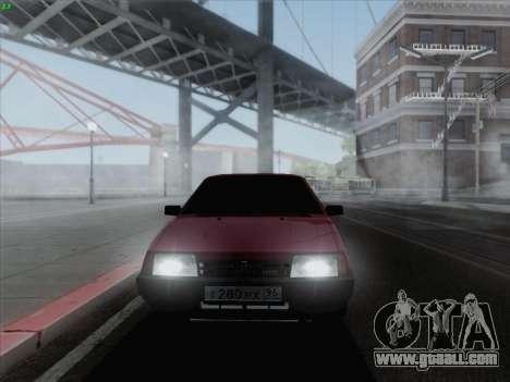 VAZ 21093i for GTA San Andreas left view
