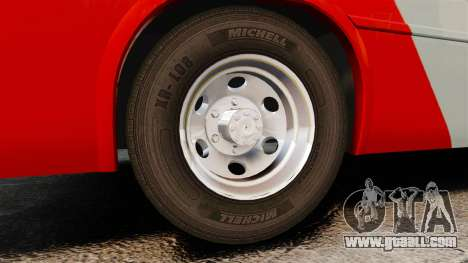 Mercedes-Benz Neobus Thunder LO-915 for GTA 4 inner view