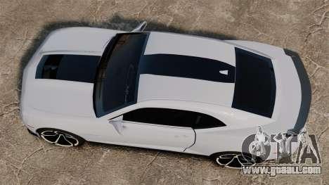 Chevrolet Camaro ZL1 2012 for GTA 4 right view