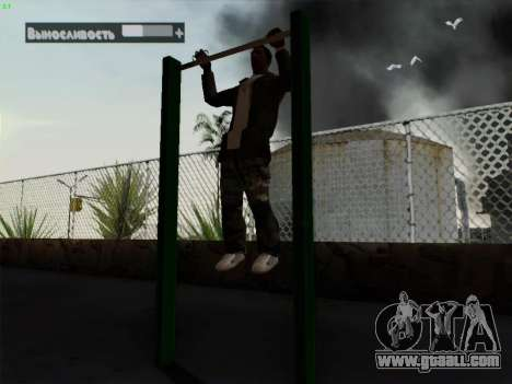 Horizontal Bar for GTA San Andreas second screenshot