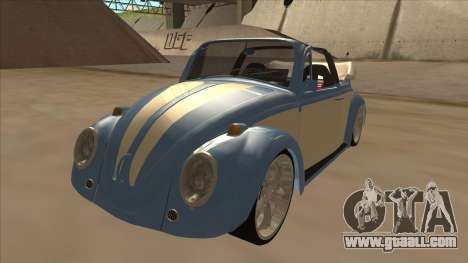 VW Beetle 1969 for GTA San Andreas