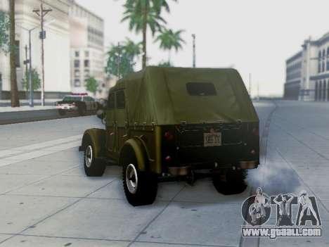 UAZ-69A for GTA San Andreas engine