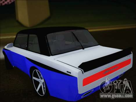 VAZ 2107 for GTA San Andreas inner view