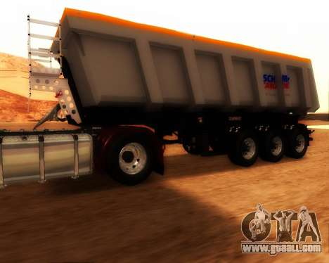 Trailer Schmitz Cargo Bull for GTA San Andreas