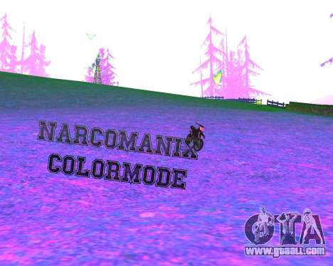 NarcomaniX Colormode for GTA San Andreas