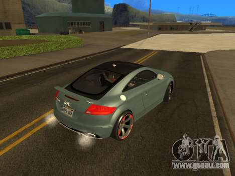Audi TT RS Plus 2013 for GTA San Andreas left view