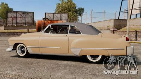 Cadillac Series 62 convertible 1949 [EPM] v4 for GTA 4 left view