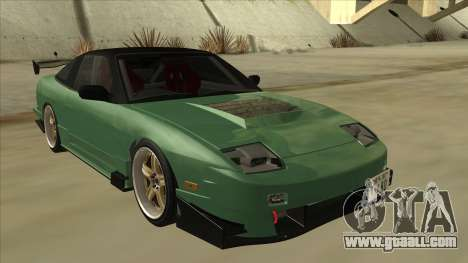 Nissan 180SX Uras GT for GTA San Andreas left view