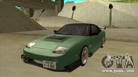 Nissan 180SX Uras GT for GTA San Andreas