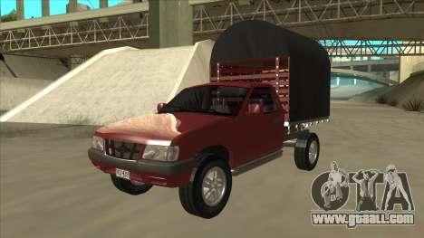 Chevrolet Luv 2.500 diesel for GTA San Andreas