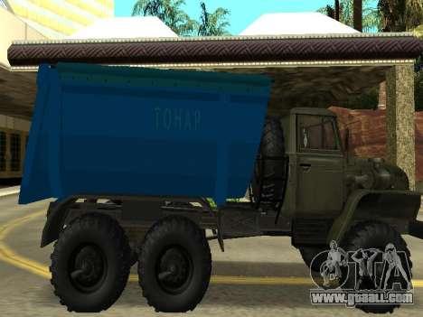 Ural 4320 Tonar for GTA San Andreas left view