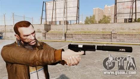 Glock 17 self-loading pistol v1 for GTA 4