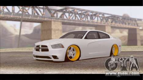 Dodge Charger SRT8 for GTA San Andreas left view
