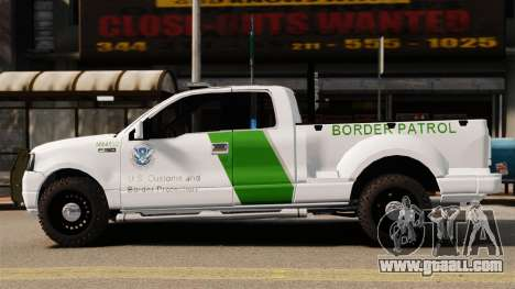 Ford F-150 v3.3 Border Patrol [ELS & EPM] v3 for GTA 4 left view