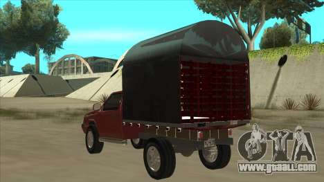 Chevrolet Luv 2.500 diesel for GTA San Andreas back view