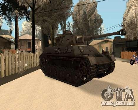 Panzerkampfwagen for GTA San Andreas