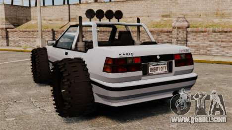 Jeep Futo Final for GTA 4 back left view