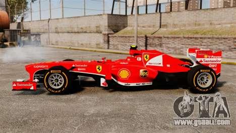 Ferrari F138 2013 v2 for GTA 4 left view