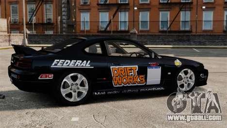 Nissan Silvia S15 v4 for GTA 4 left view