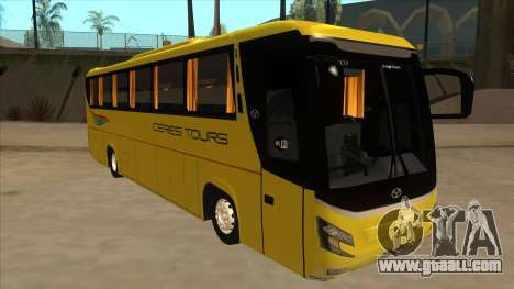 Yanson Legacy - CERES TOURS 55003 for GTA San Andreas left view