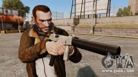 Tactical MP9 submachine gun v3 for GTA 4 third screenshot