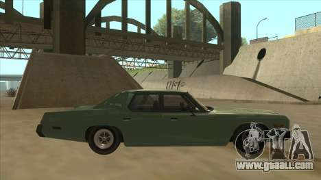 Dodge Monaco V10 for GTA San Andreas back left view