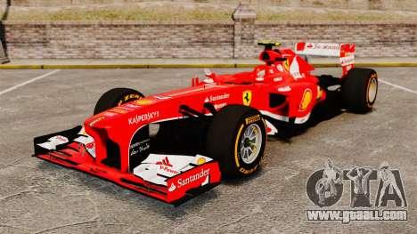 Ferrari F138 2013 v2 for GTA 4