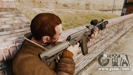 Automatic MM118 AK for GTA 4 second screenshot