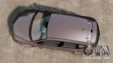 Mazda 3 Sport for GTA 4 inner view