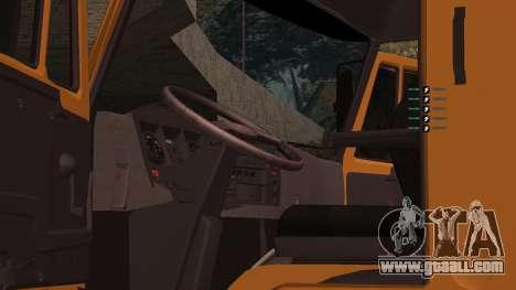 KAMAZ 260 Turbo for GTA San Andreas side view