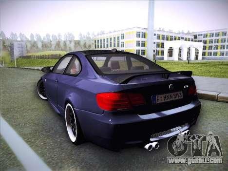 BMW M3 E92 Hamann 2012 for GTA San Andreas left view