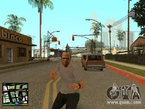 Trevor Philips of GTA 5 for GTA San Andreas second screenshot