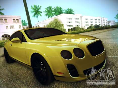 Bentley Continental GT for GTA San Andreas