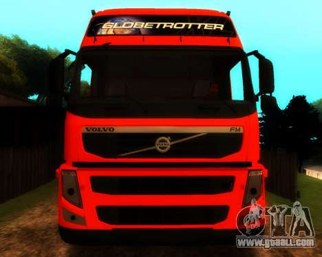 Volvo FM Globetrotter XL 6x4 for GTA San Andreas inner view