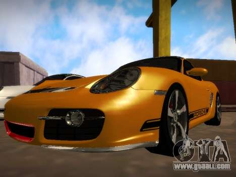 Porsche Cayman R 2007 for GTA San Andreas
