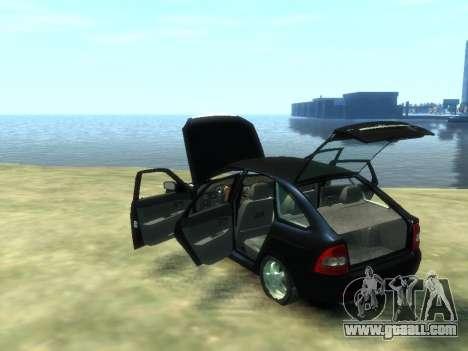 Lada Priora for GTA 4 inner view