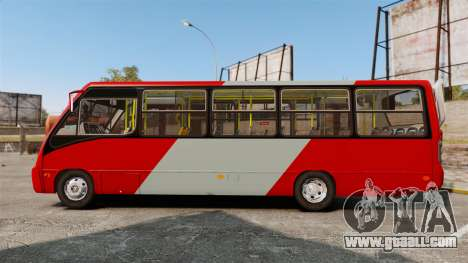 Mercedes-Benz Neobus Thunder LO-915 for GTA 4 left view