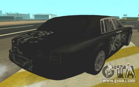 Rolls-Royce Phantom for GTA San Andreas side view