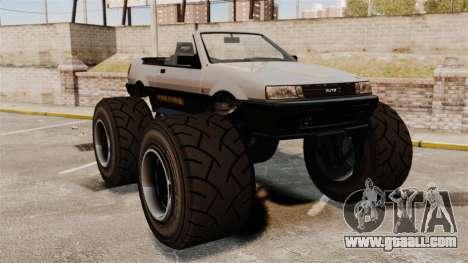 Futo Monster Truck for GTA 4