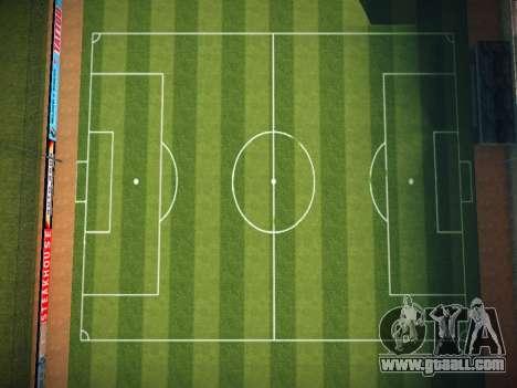 Soccer field for GTA San Andreas second screenshot