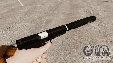Glock 17 self-loading pistol v1 for GTA 4 second screenshot