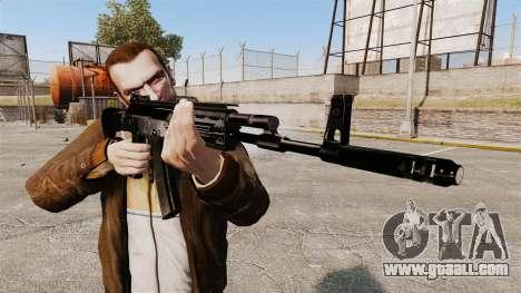 Kalashnikov AK-12 for GTA 4 third screenshot