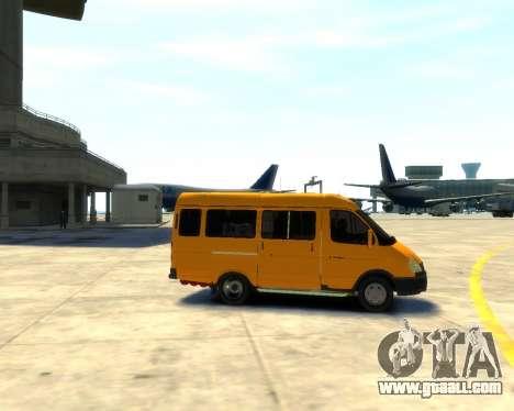 Gazelle 3221 for GTA 4 left view