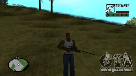 L96A1 for GTA San Andreas