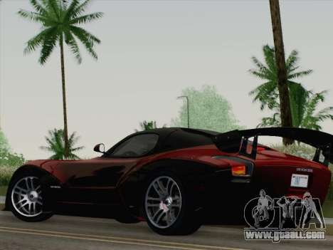 Devon GTX 2010 for GTA San Andreas